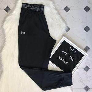 Under Armour black thin joggers size Medium